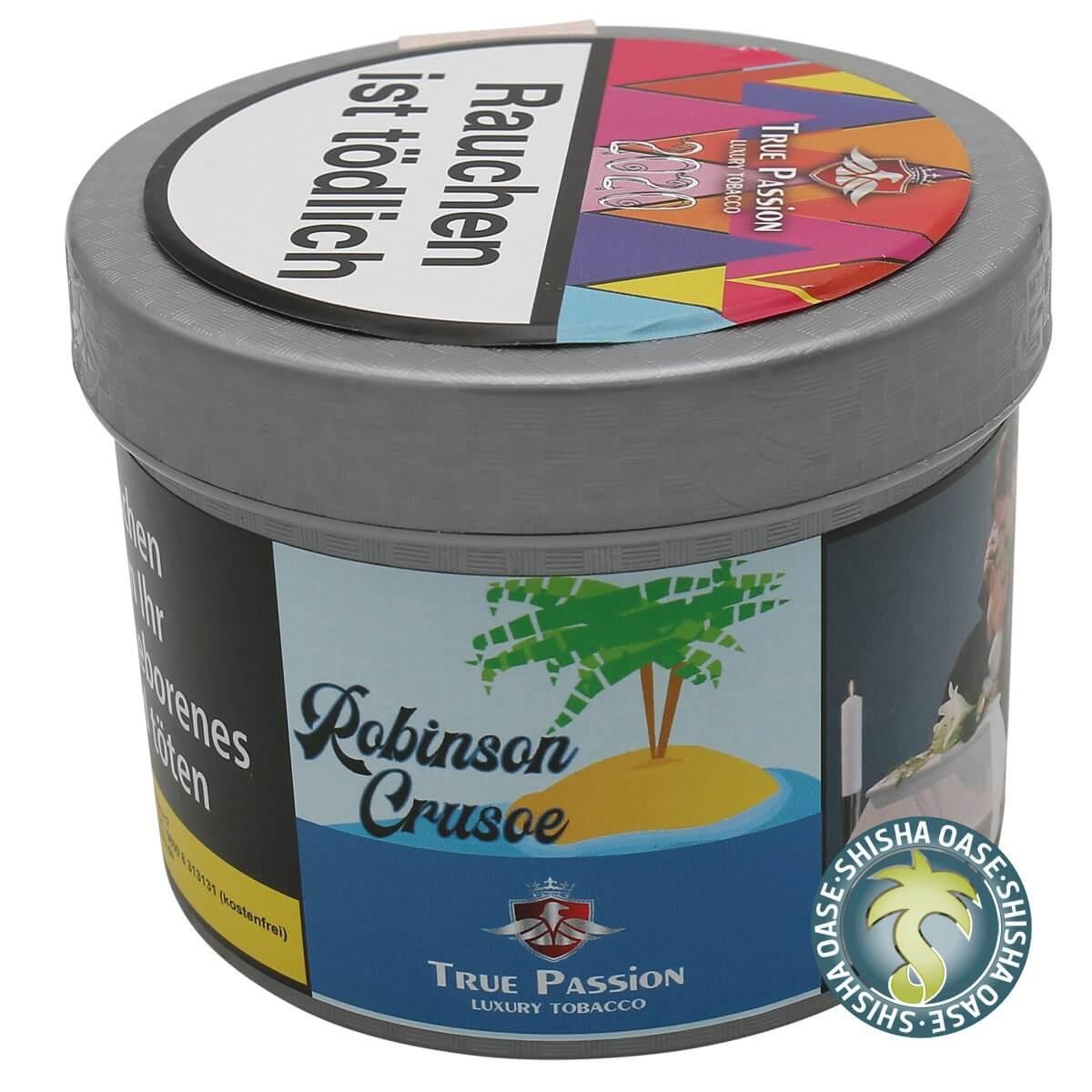 True Passion Tabak 200g Dose | Robinson Cruse