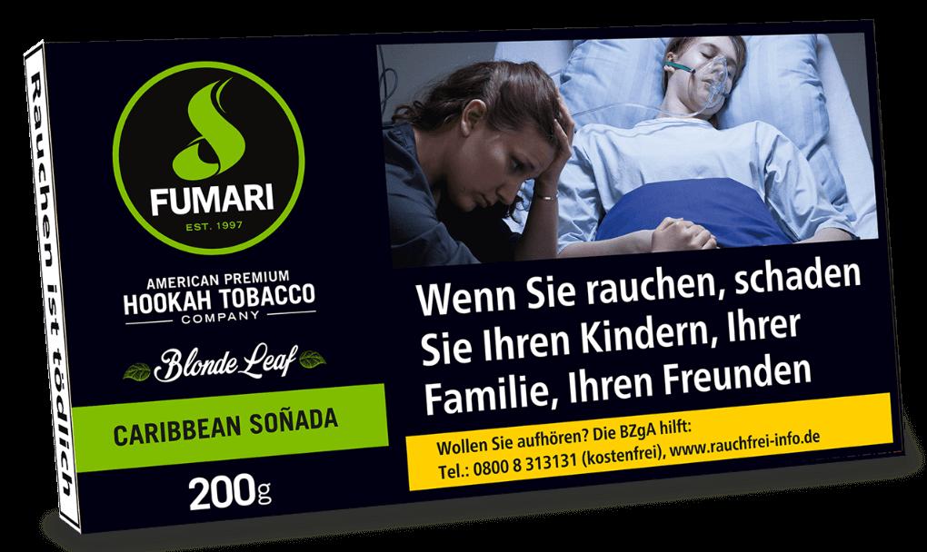 Fumari Tabak Caribbean Sonada 200g