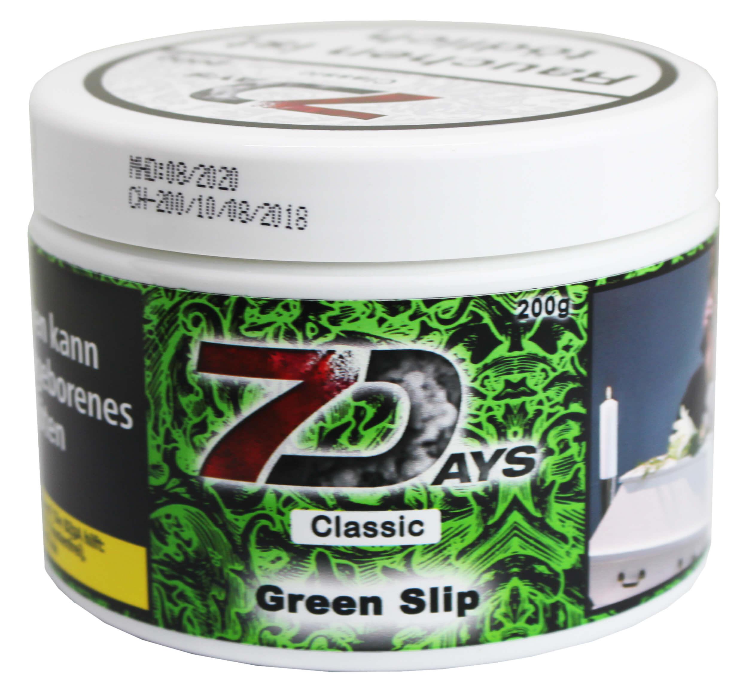 7 Days Tabak - Green Slip Classic 200g