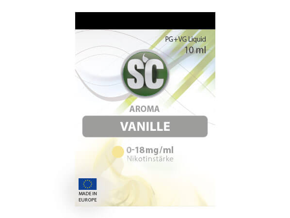 Vanille Liquid (10ml) 0 mg/ml