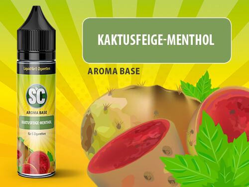 SC Vape Base - Kaktusfeige-Menthol 50ml - 0mg/ml