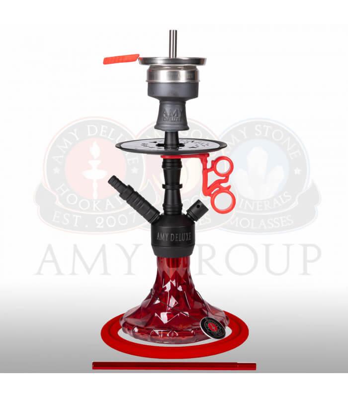 Amy Alu Brilli S (RS Schwarz / Farbe Rot)