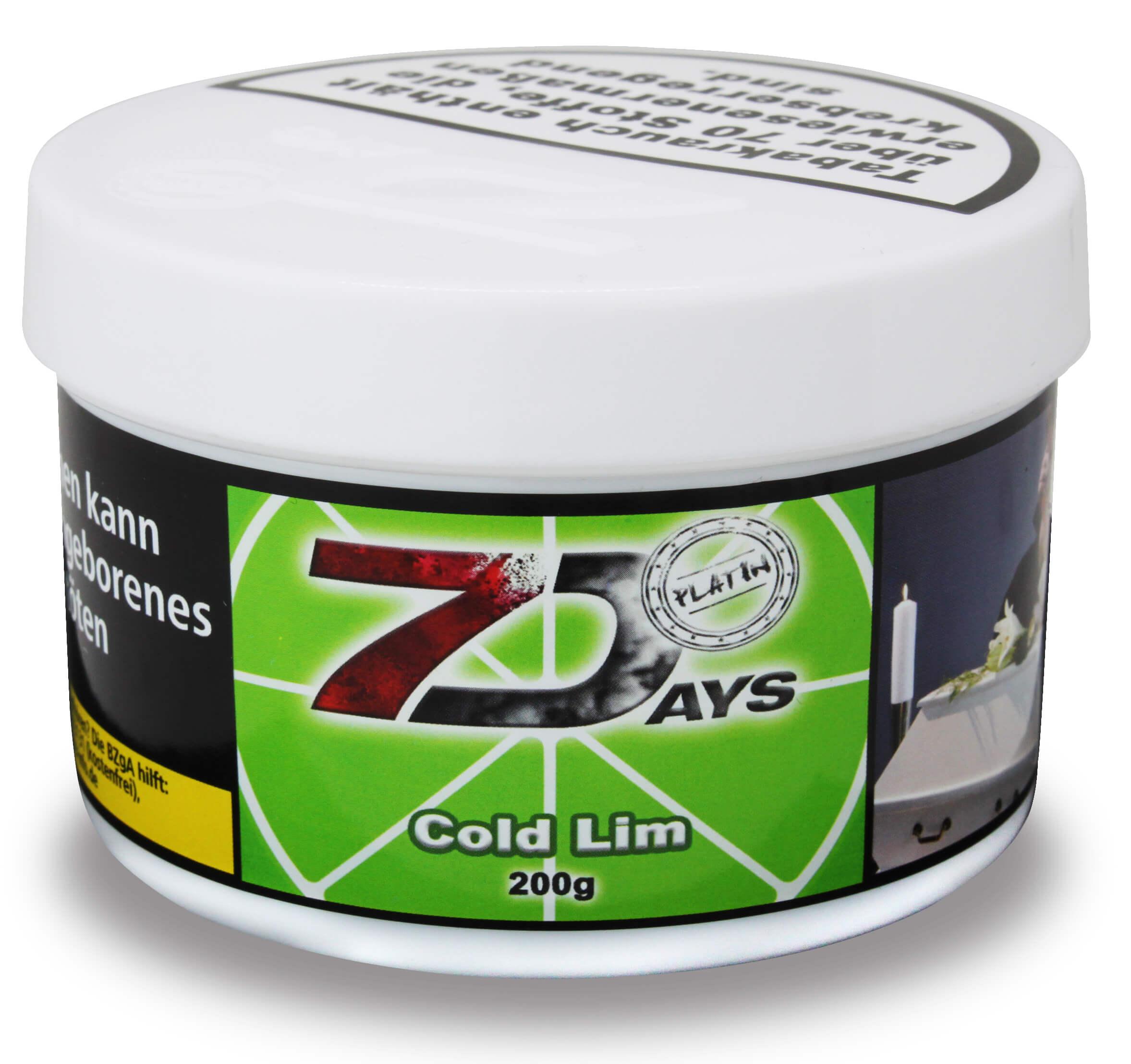 7 Days Platin Tabak - Cold Lim 200g