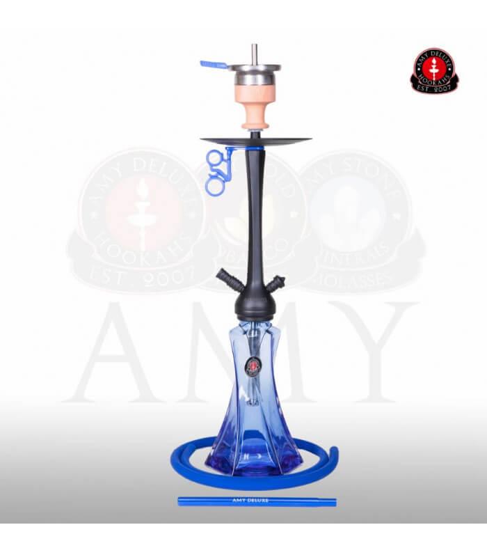 Amy Deluxe Curl Klick II (RS Schwarz / Farbe Blau)