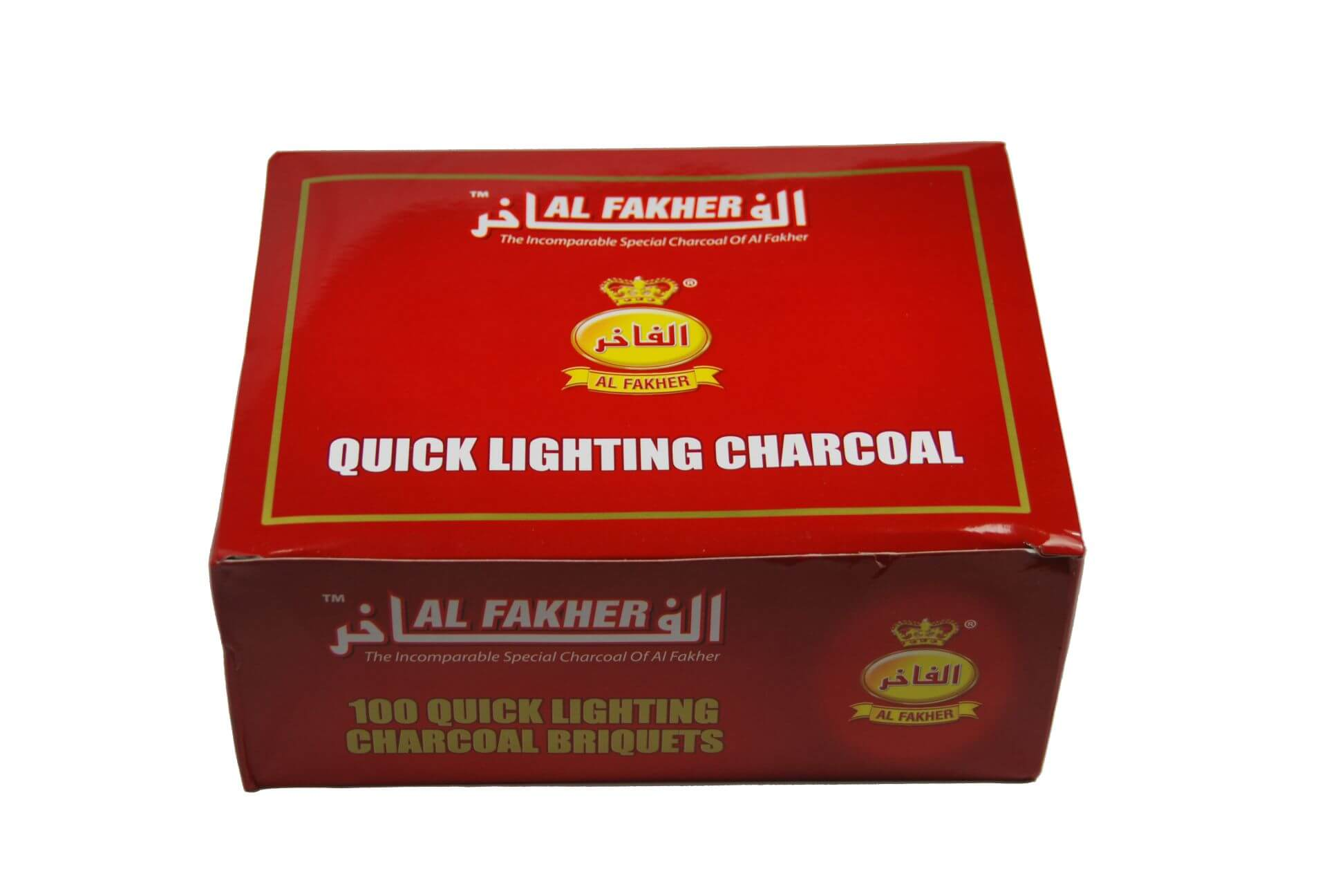 Al Fakher 40mm Selbstzünder - 100 Kohletabletten