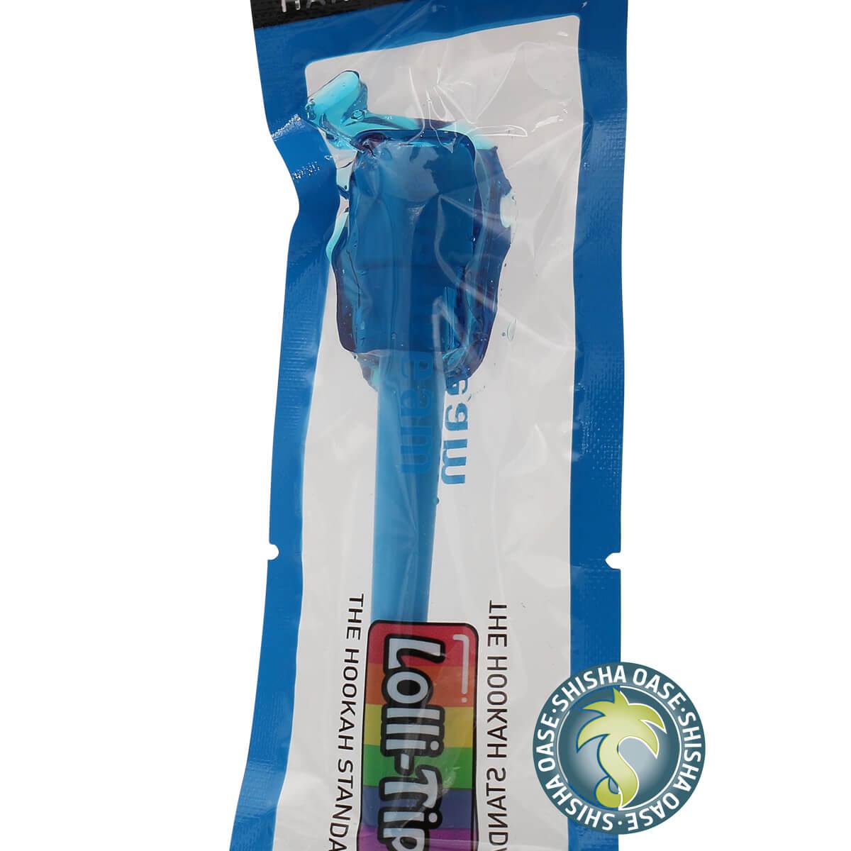 Hygienemundstück mit Lolli | Lolli Tip | Blue Dream