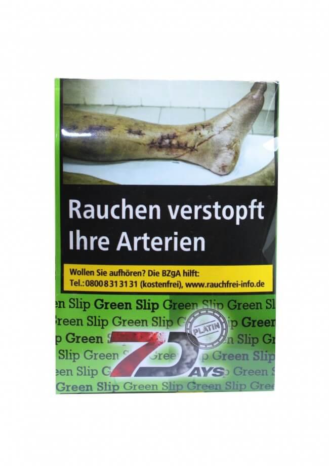 7 Days Platin Tabak - Green Slip 20g