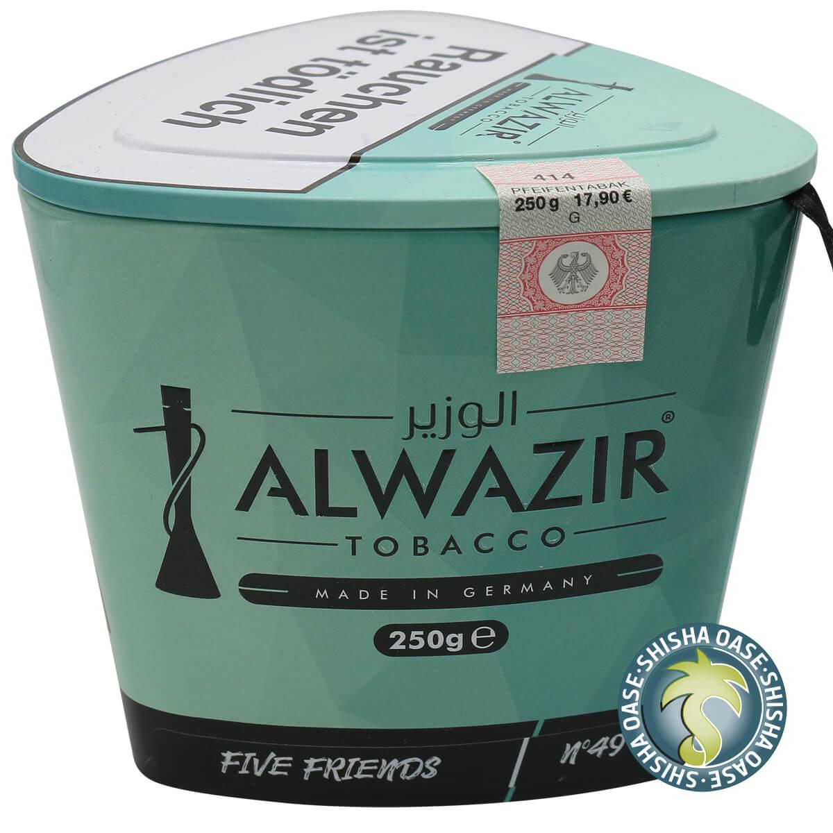 Al Wazir Tabak 250g Dose | Five Friends No.49