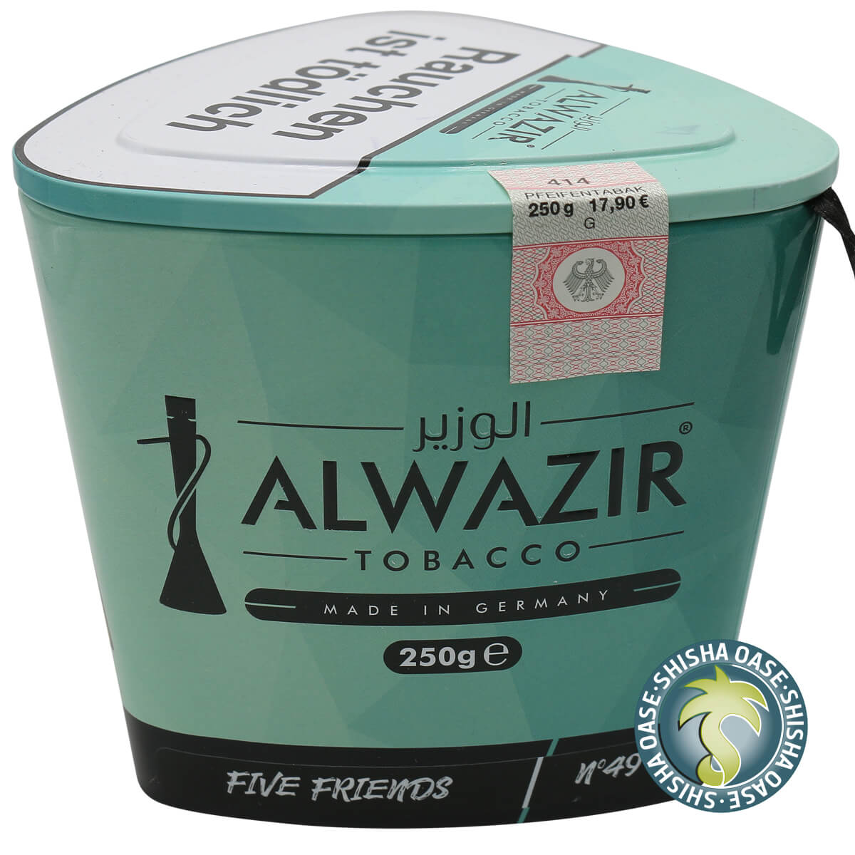 Al Wazir Tabak 250g Dose | Five Friends No.49