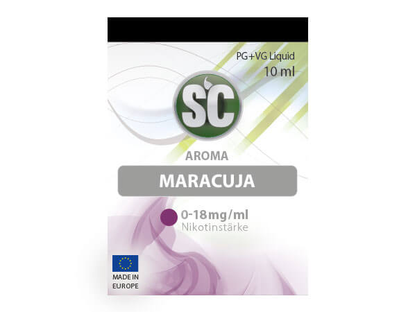 Maracuja Liquid (10ml) 0 mg/ml