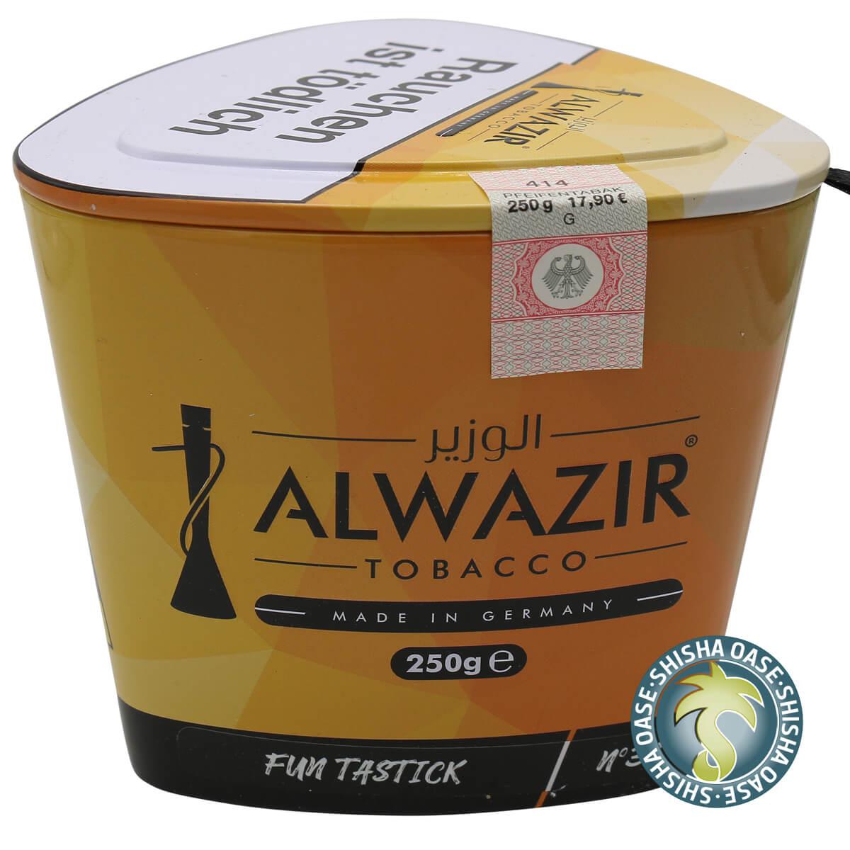Al Wazir Tabak 250g Dose | Fun Tastik No.37