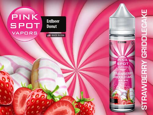 Pink Spot - Strawberry Griddlecake 50ml - 0mg/ml