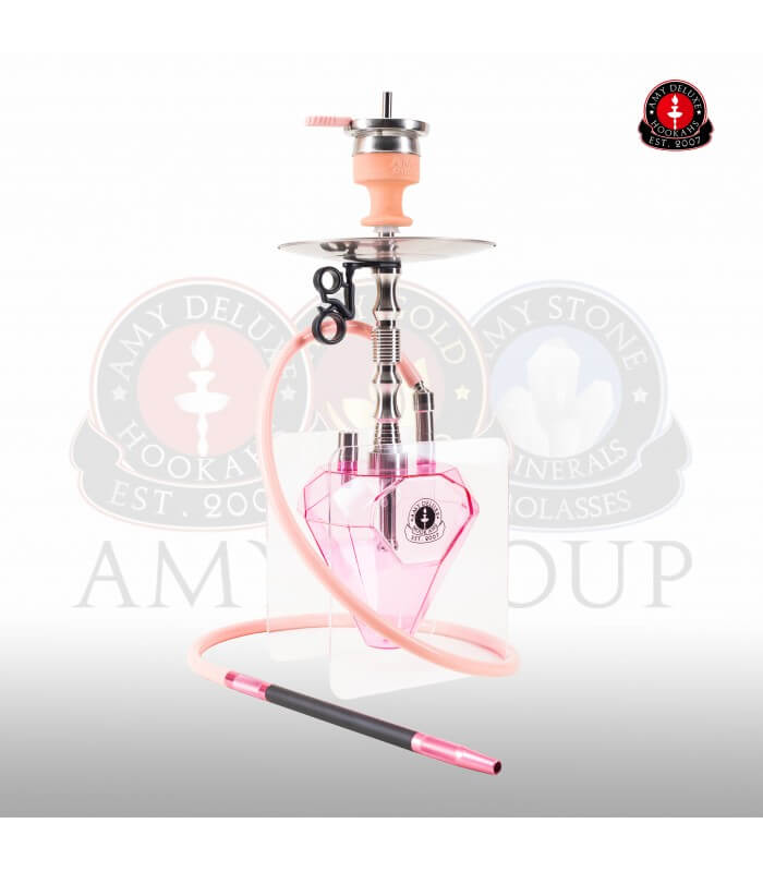 Amy Deluxe Diamond Klick (RS Silber / Farbe Pink)
