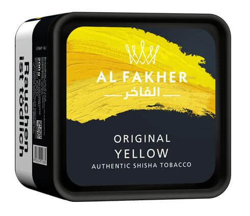 Al Fakher Tabak Yellow 200g