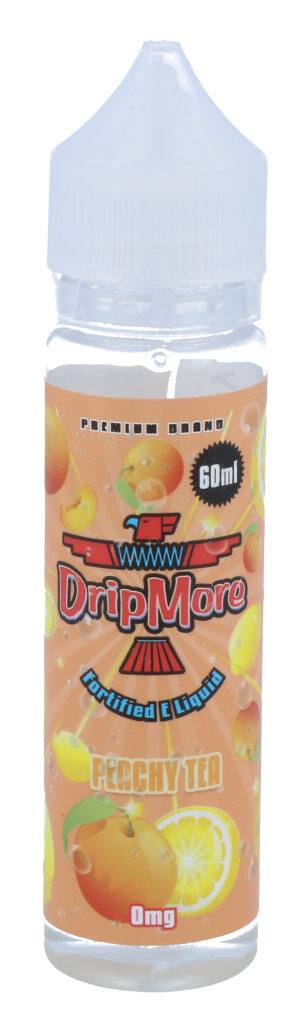 DripMore - Peachy Tea 50 ml - 0 mg/ml