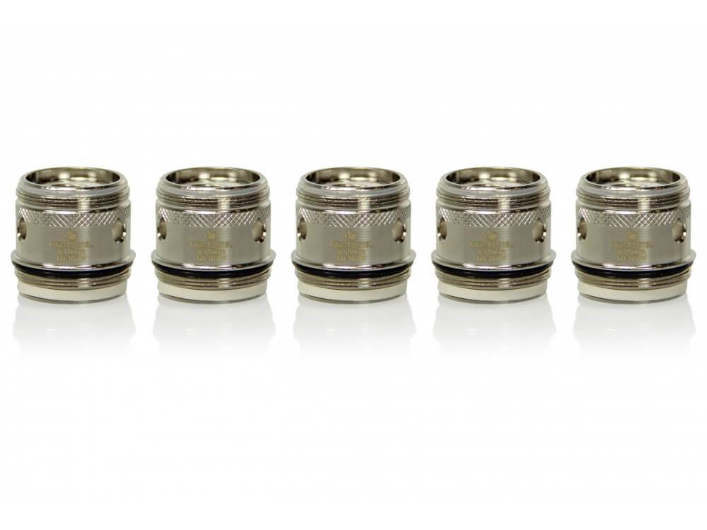 InnoCigs MGS SS316L Head 0,15 Ohm (5 Stück)