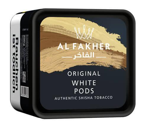 Al Fakher Tabak White Pods 200g