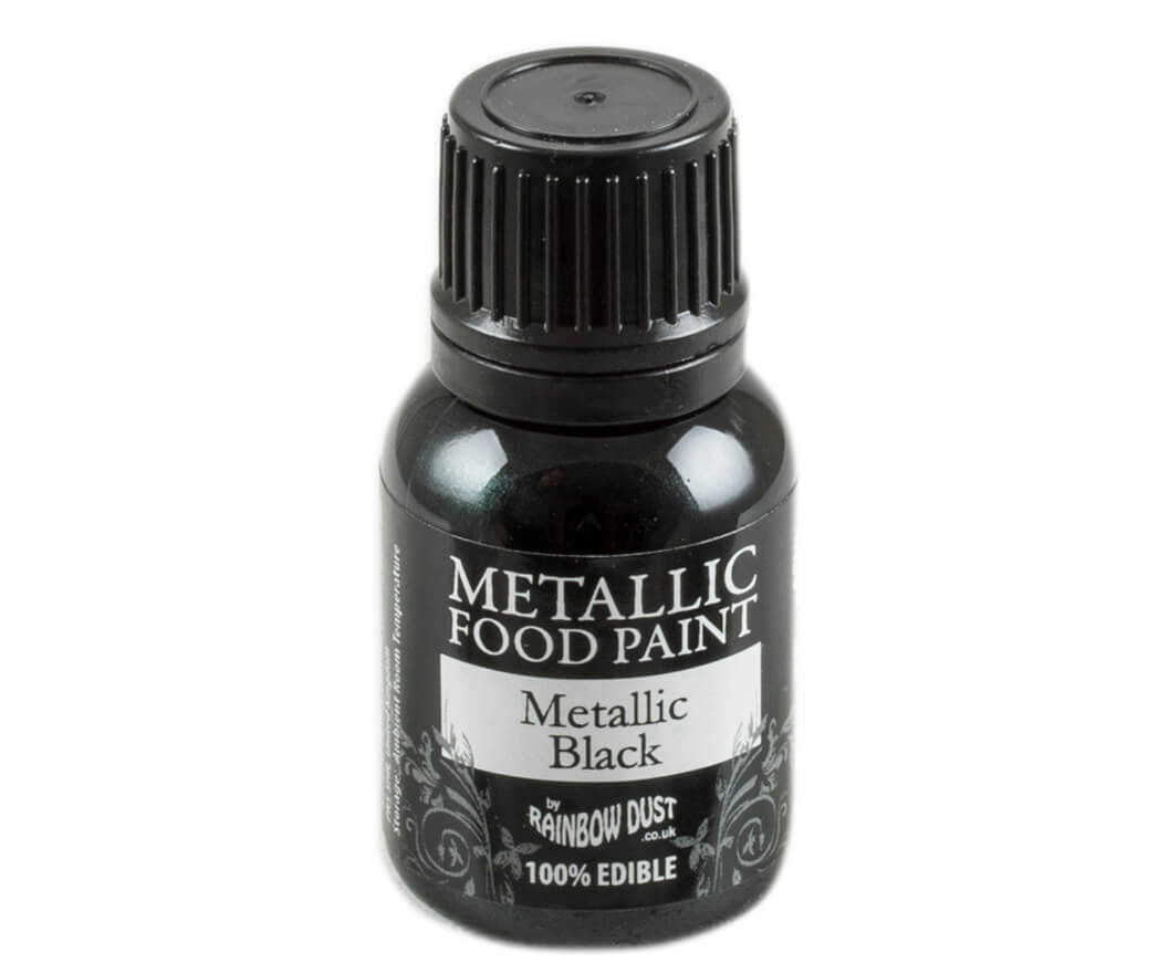 Rainbow Dust Metallic Farbe - Black