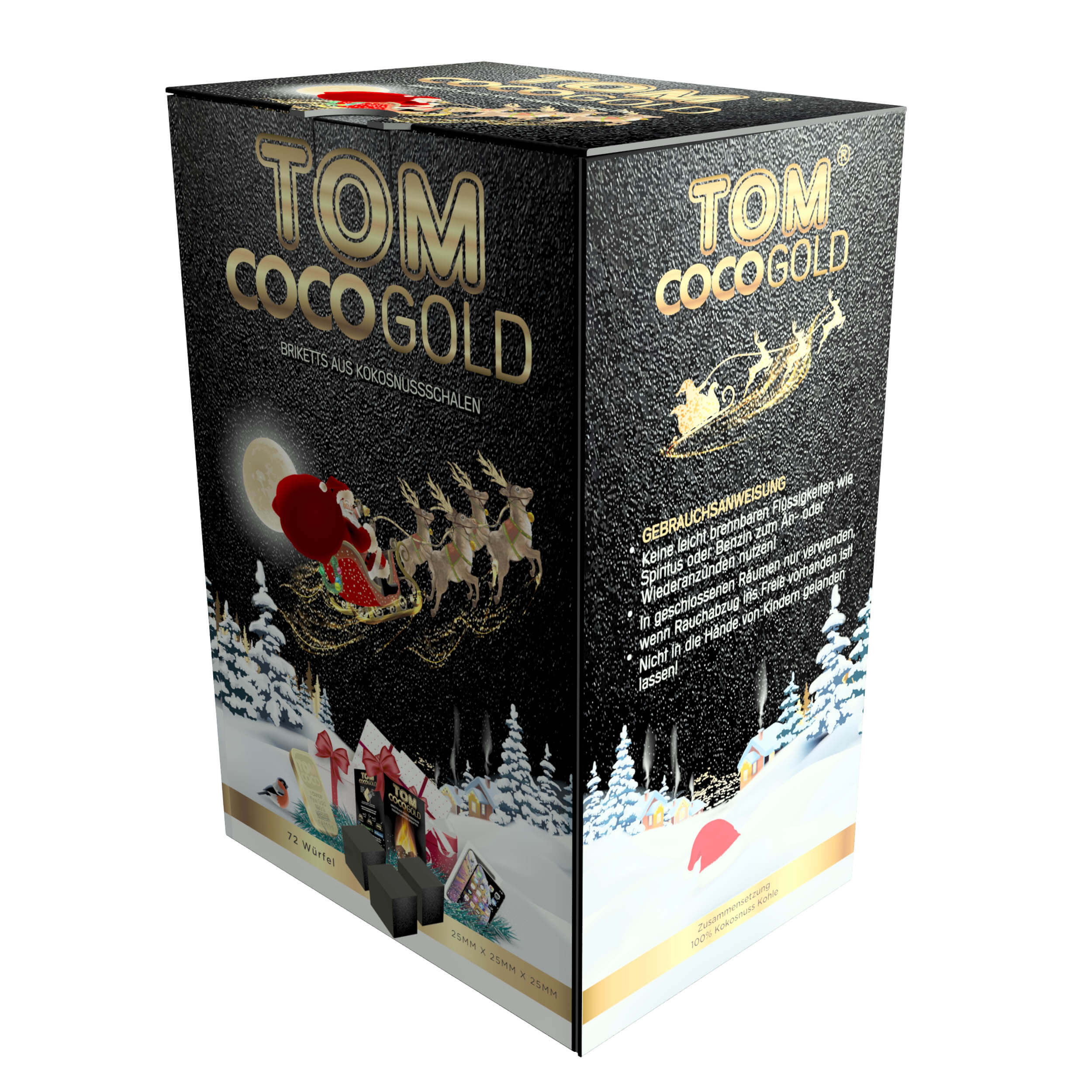 TOM Cococha Gold | 1kg Weihnachtsedition