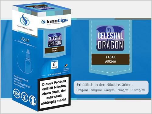 Innocigs Liquid - Celestial Dragon Tabak Aroma - 0 mg/ml