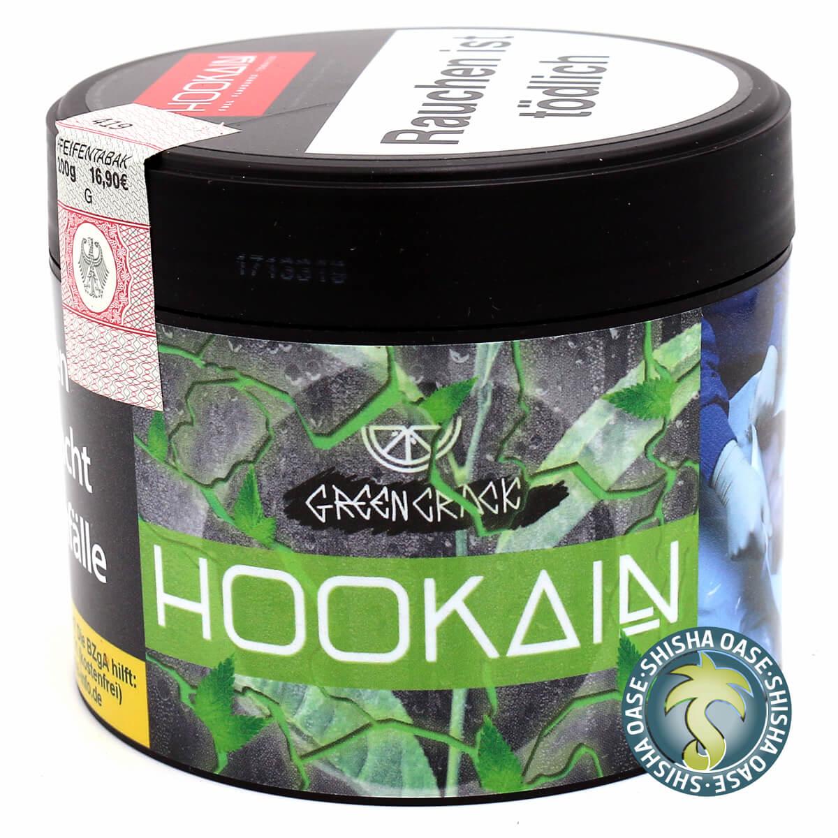 Hookain Tabak Green Crack 200g