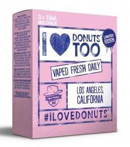 I Love Donuts too (3x10ml) - Mad Hatter Liquid - 0mg/ml