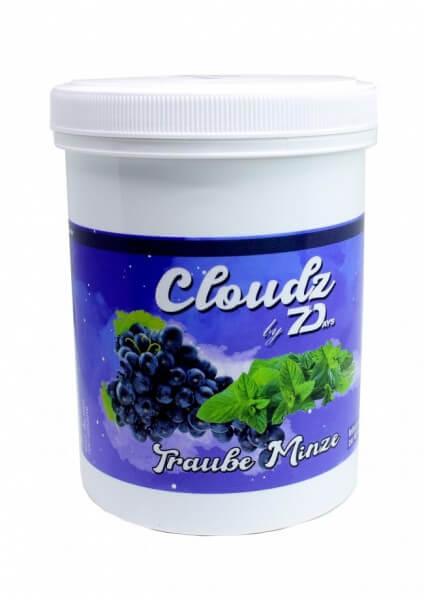 Cloudz by 7 Days Dampfsteine 500g | Traube Minze