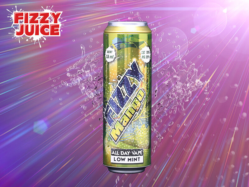 Fizzy Juice - Mango 55 ml - 0 mg/ml