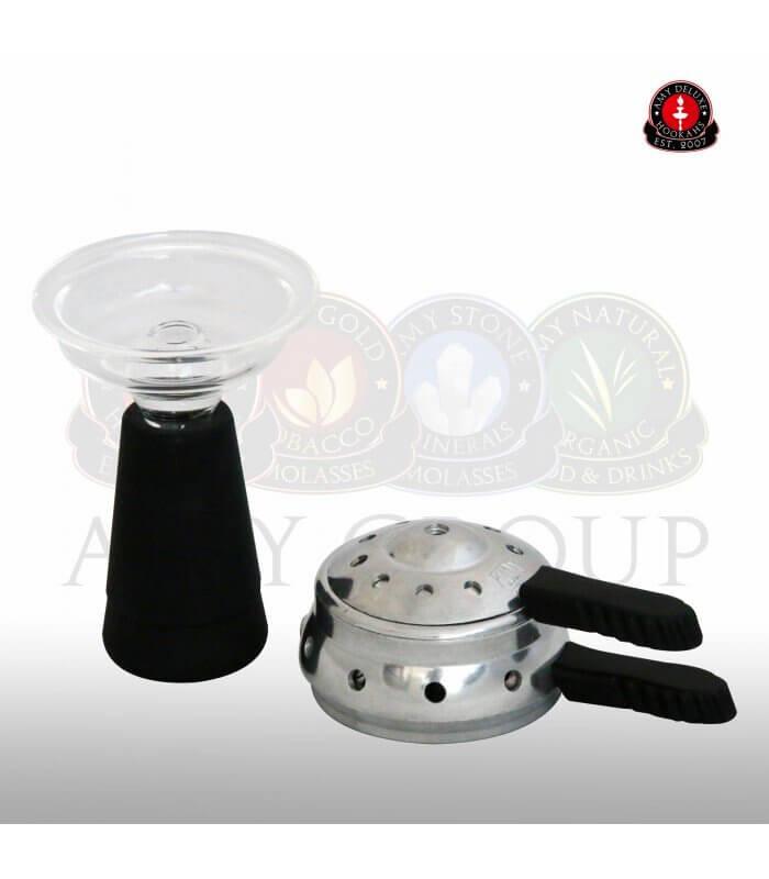 Amy Deluxe GlasSi Set mit Heatmanagement - Weiß