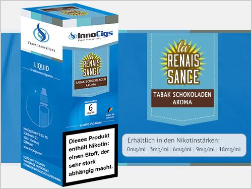 Innocigs Liquid - La Renaissance Tabak-Schokoladen Aroma -