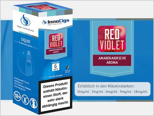 Innocigs Liquid - Red Violet Amarenakirsche Aroma - 0 mg/m