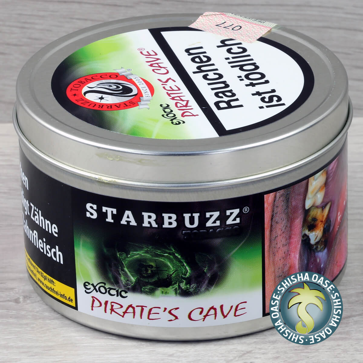 Starbuzz Tabak Pirate´s Cave 200g