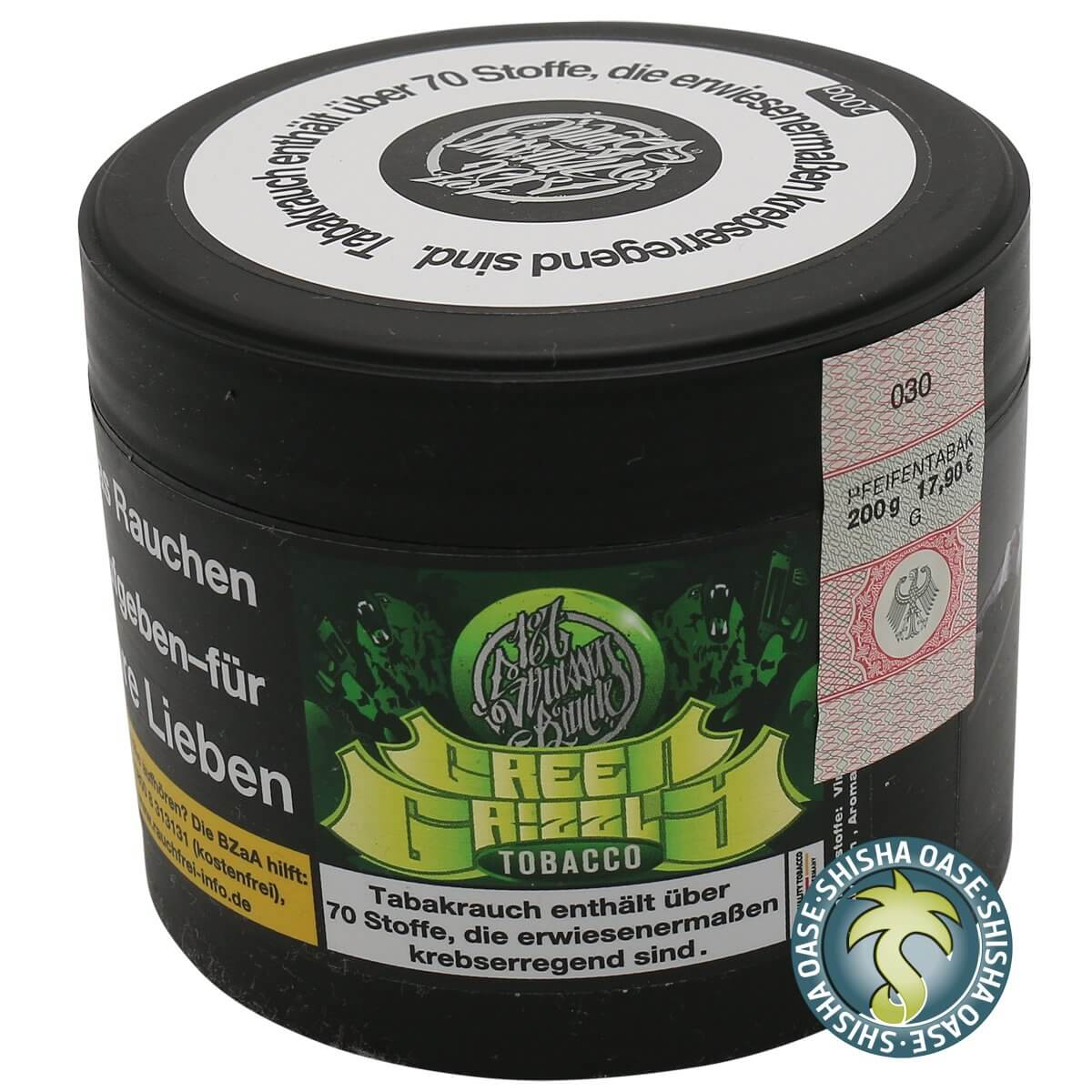 187 Tabak Green GRIZZLY 200g