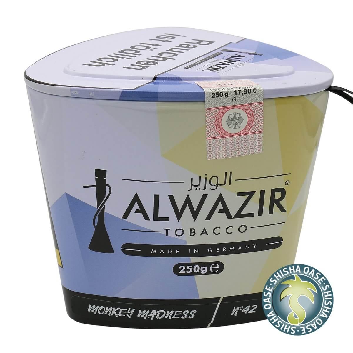 Al Wazir Tabak 250g Dose | Monkey Madness No.42