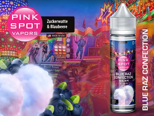 Pink Spot - Blue Raz Confection 50ml - 0mg/ml