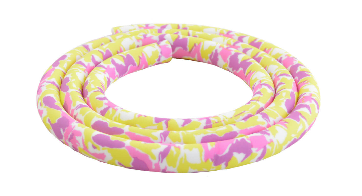 Silikonschlauch Soft Touch Matt (Pink Yellow Camo)
