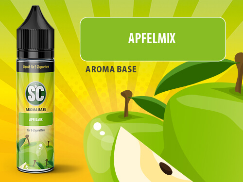 SC Vape Base - Apfelmix 50ml - 0mg/ml