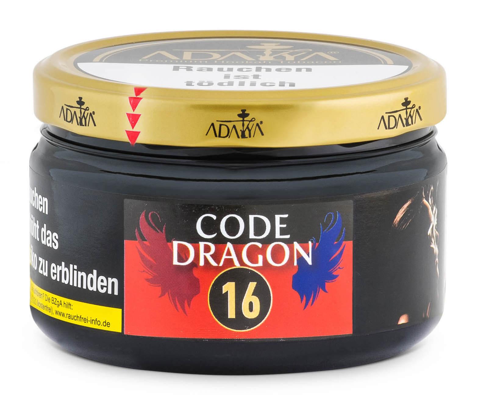 Adalya Tabak Code Dragon #16 200g