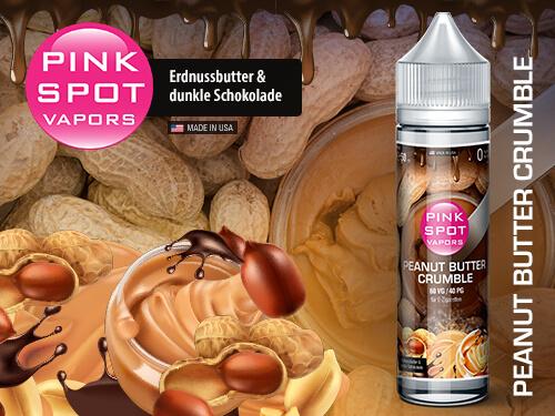 Pink Spot - Peanut Butter Crumble 50ml - 0mg/ml