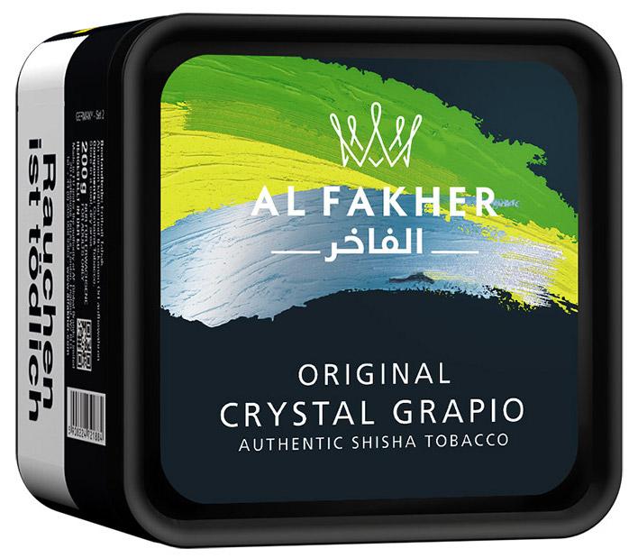 Al Fakher Tabak Crystal Grapio 1kg