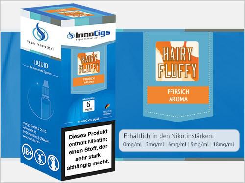 Innocigs Liquid - Hairy Fluffy Pfirsich Aroma - 3 mg/ml