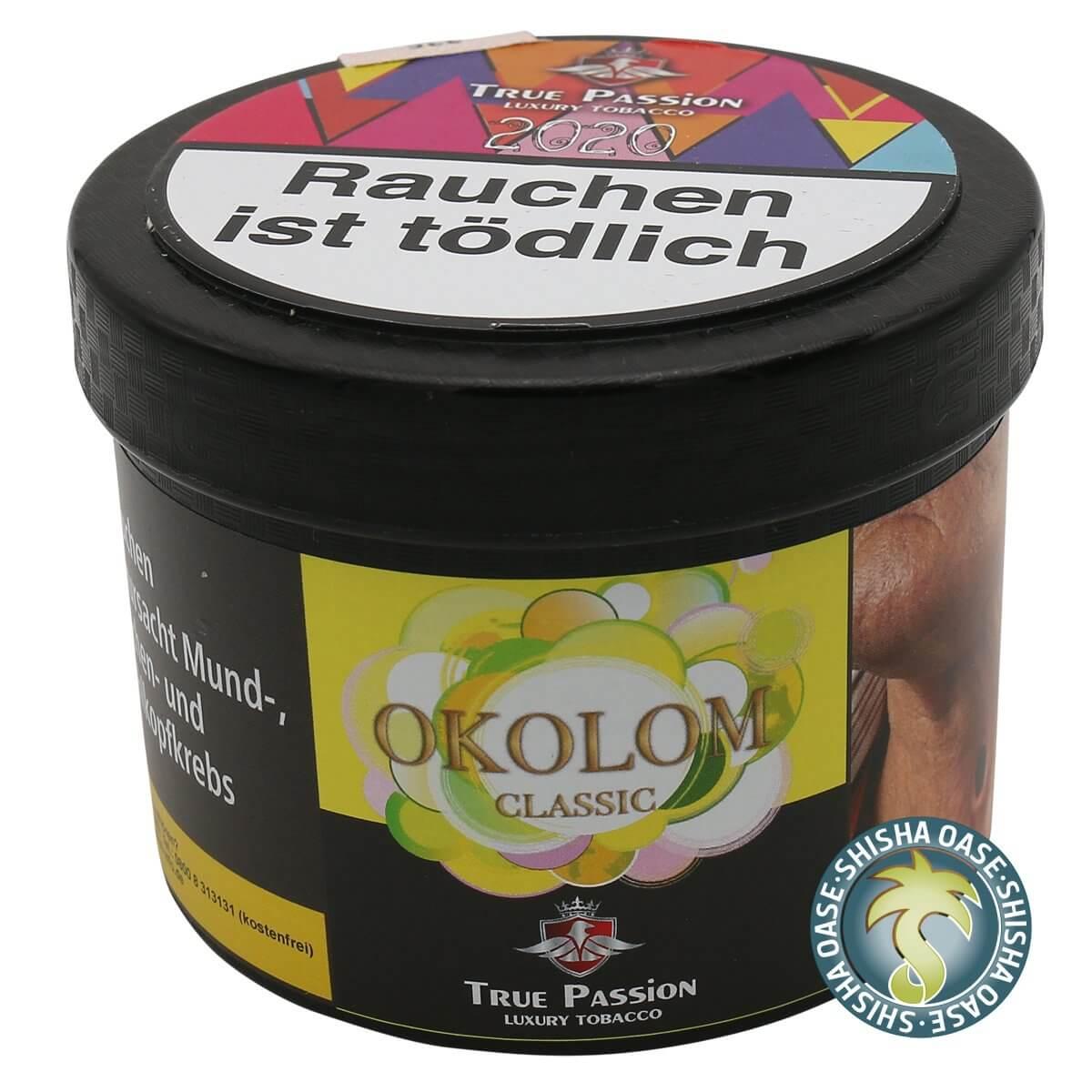 True Passion Tabak 200g Dose | Okolom Classic