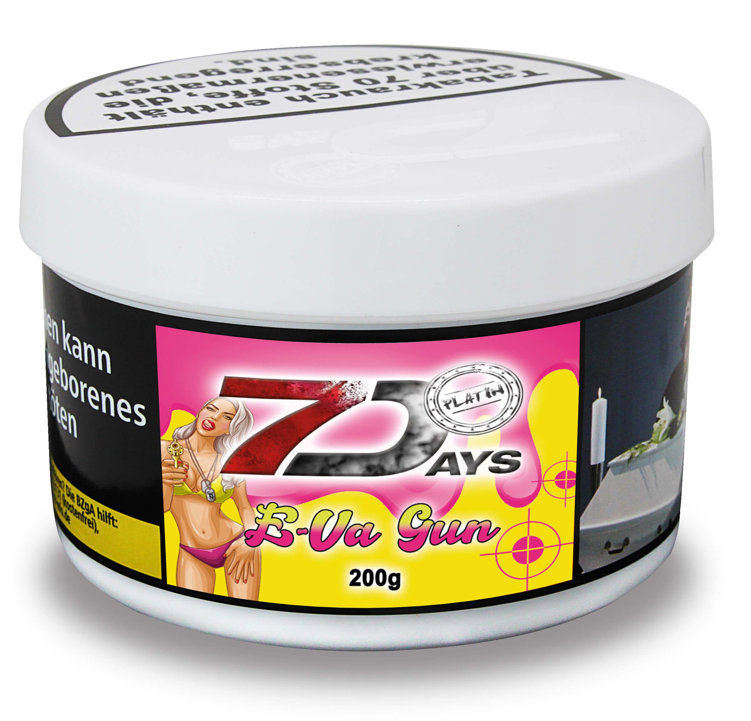 7 Days Platin Tabak - E-Va Gun 200g