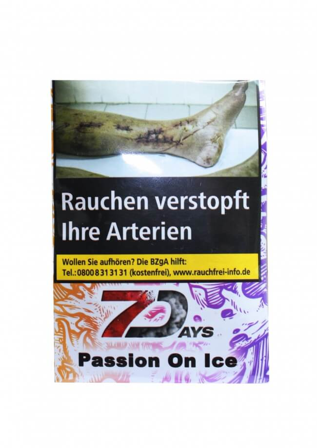 7 Days Classic Tabak - Passion on Ice 20g
