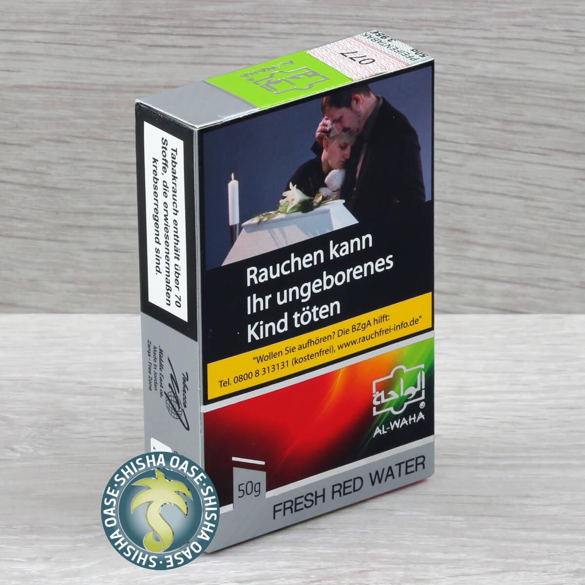 Al Waha Red One 50g - rauchfertig