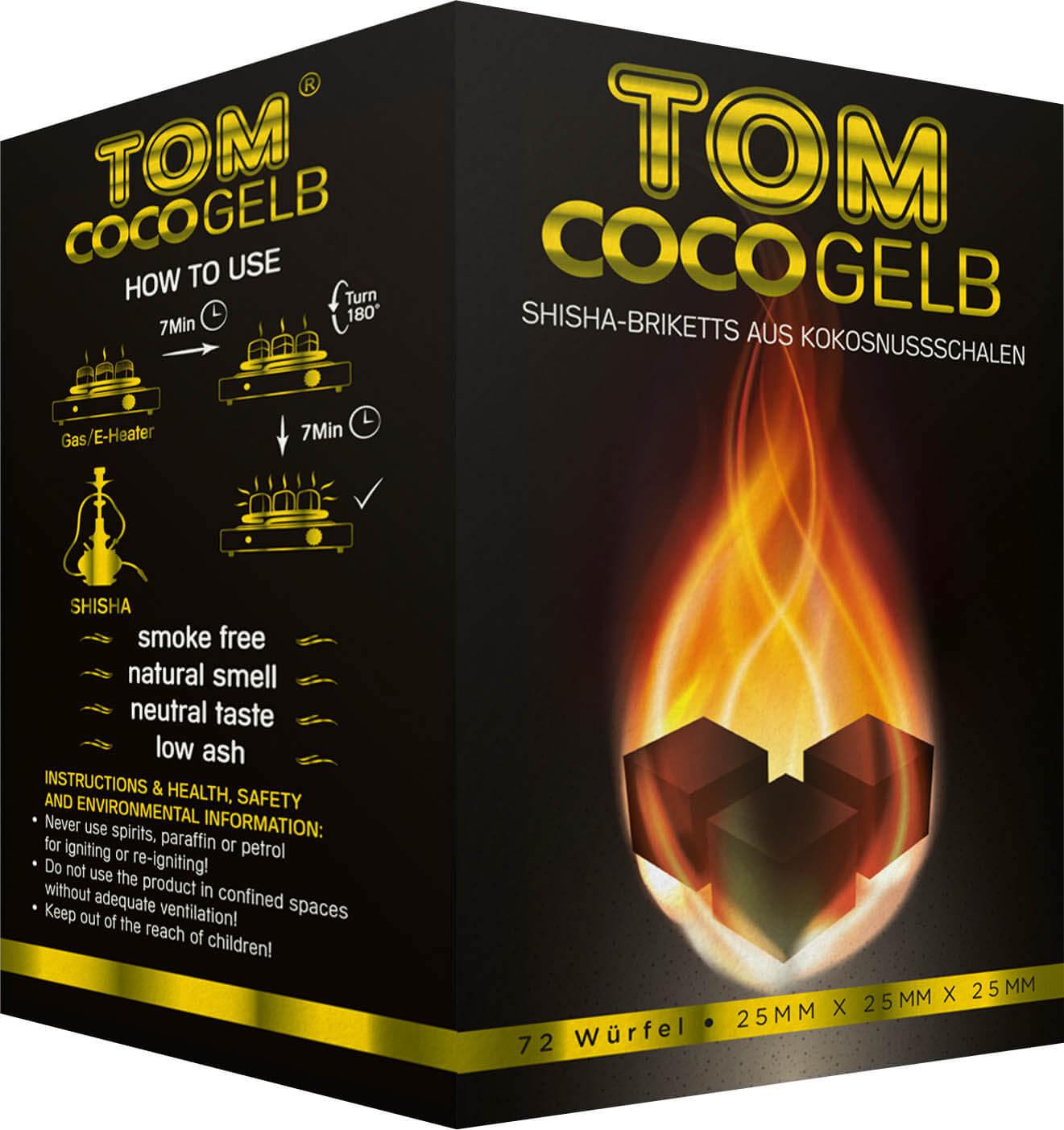 Tom Cococha - gelb - 1kg
