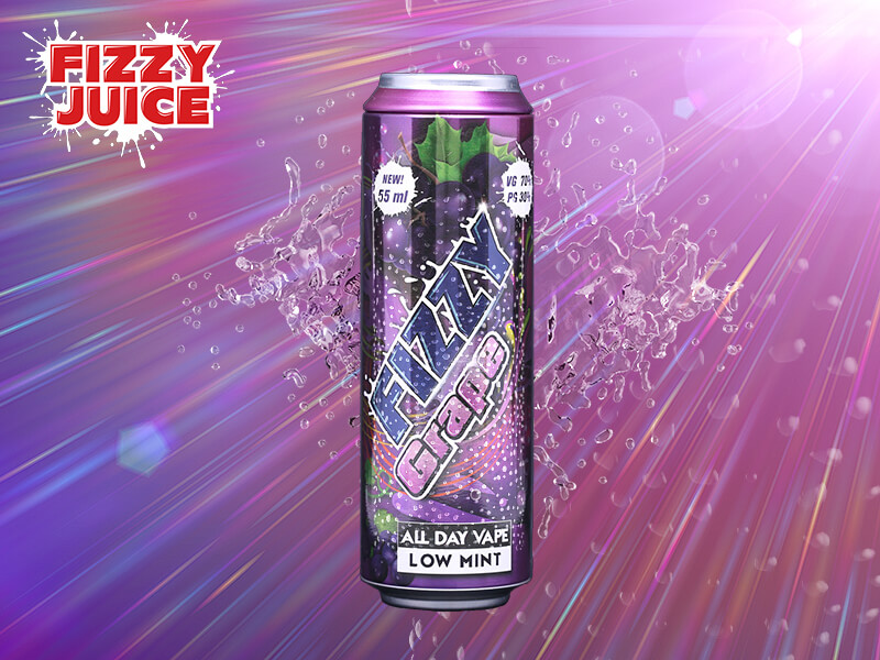 Fizzy Juice - Grape 55 ml - 0 mg/ml