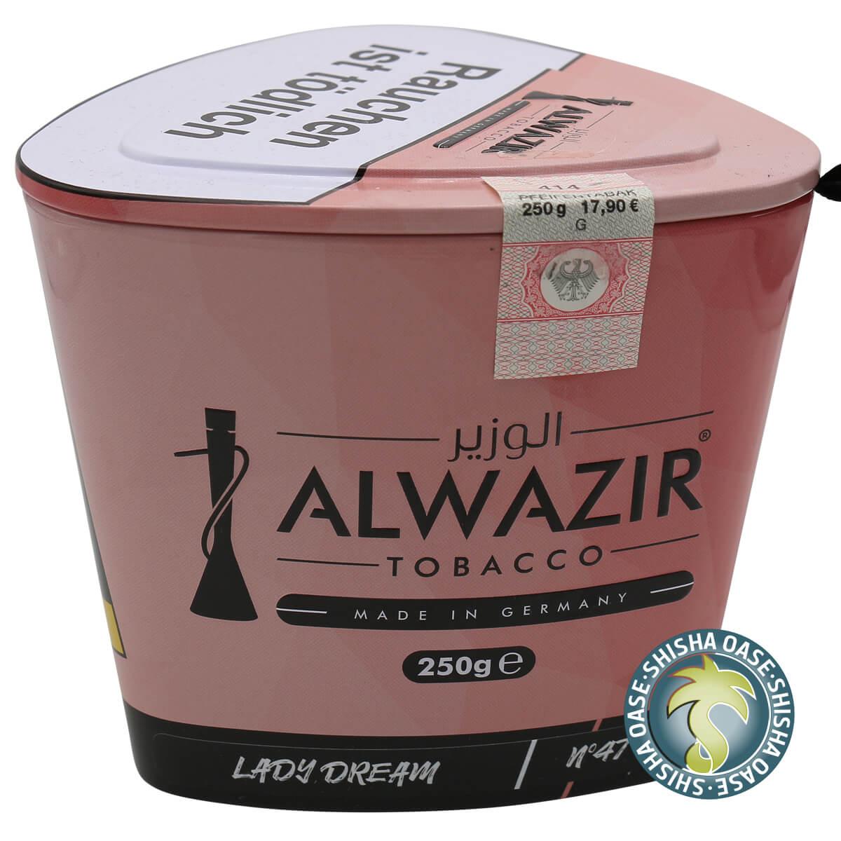 Al Wazir Tabak 250g Dose | Lady Dream No.47