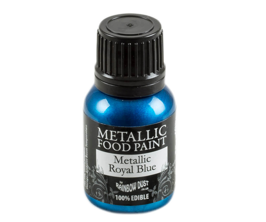 Rainbow Dust Metallic Farbe - Royal Blue
