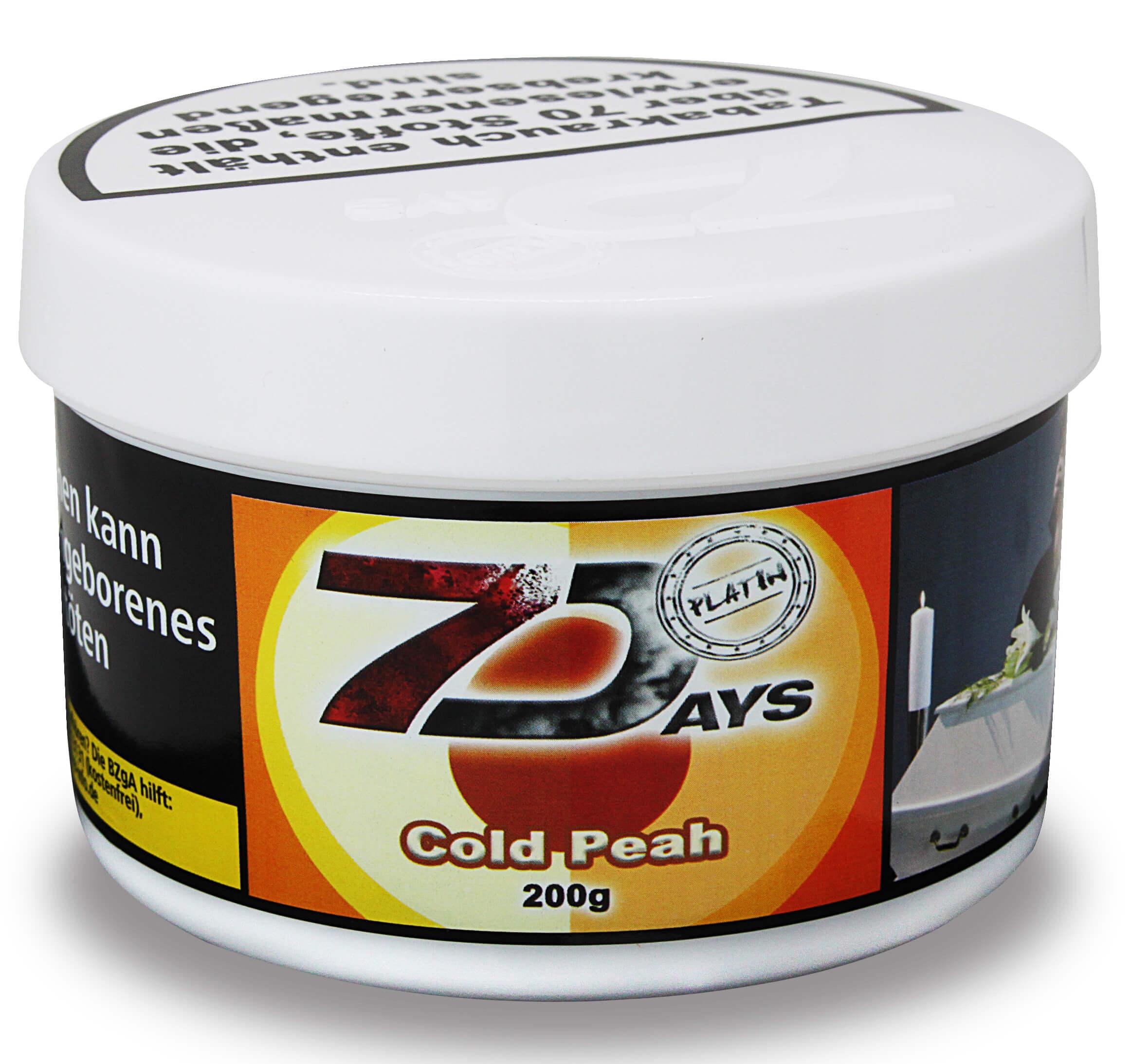 7 Days Platin Tabak - Cold Peah 200g